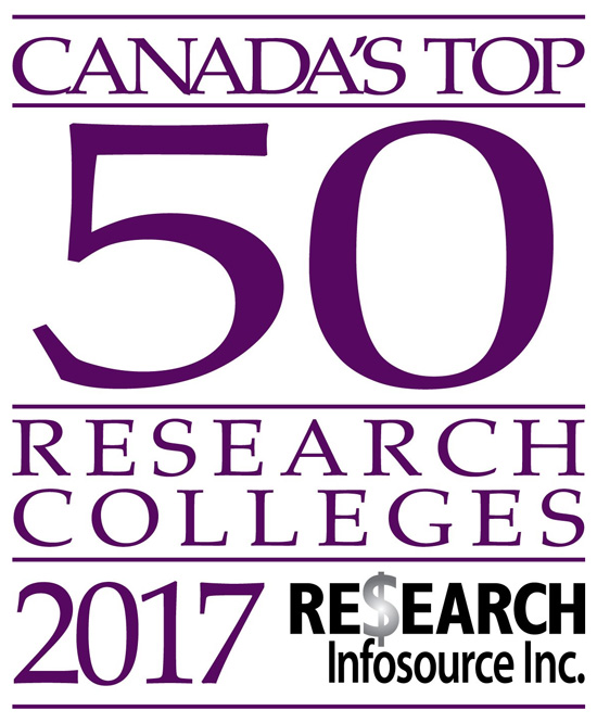 Thanks to our commitment to excellence, OCCI has been named among the Top 50 Research Colleges in Canada annually on reports released by Re$earch Infosource Inc.