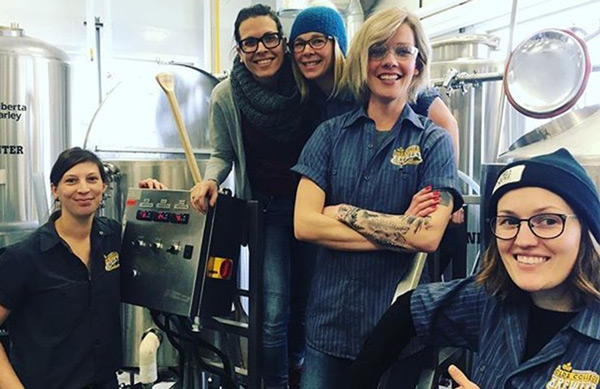 OC Brewery Students - International Women's Day