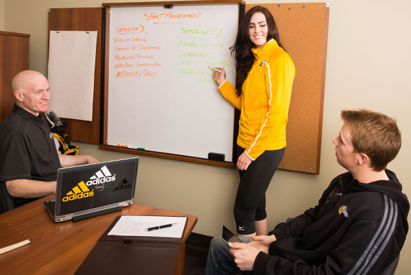 Sports Management Program Working with Canada Winter Games