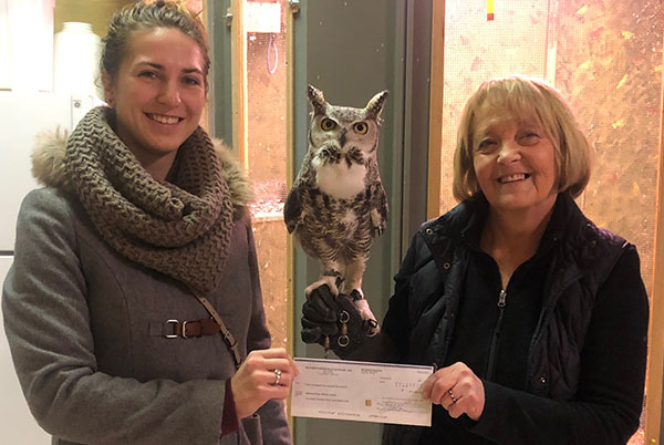 Land and Water Club Raises Money for the Medicine River Wildlife Centre