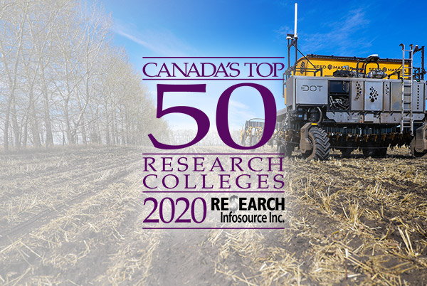 Olds College Top 50 Research 2020