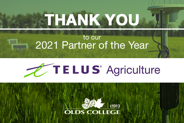 Partner of the Year 2021 - TELUS Agirculture