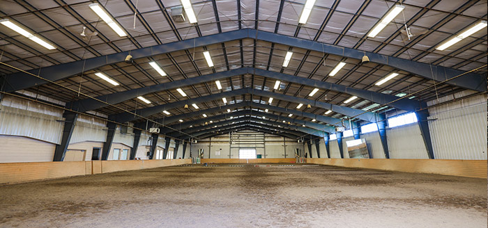 Equine Barns & Riding Arenas