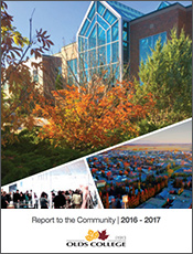 Olds College Report to the Community