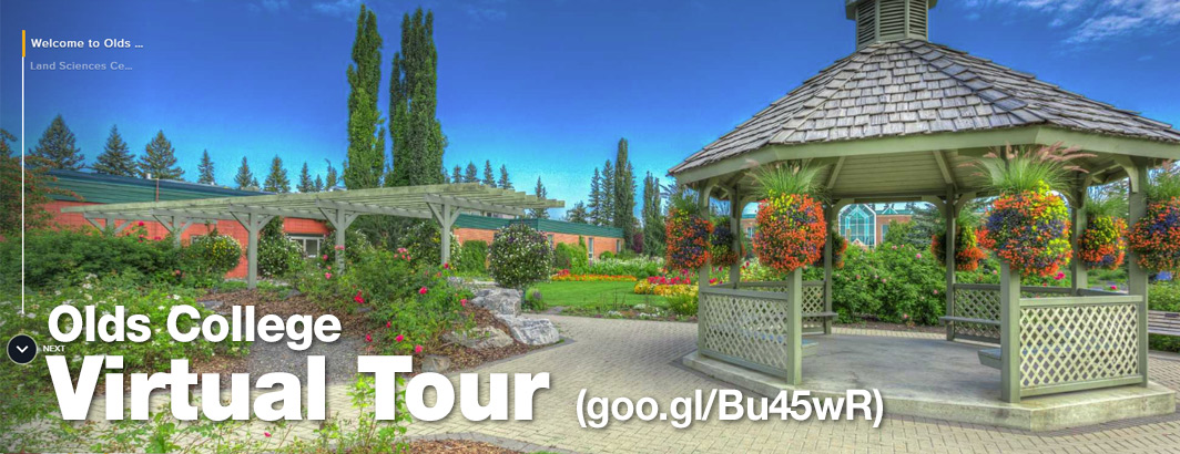 You Visit - Olds College Virtual Tour - goo.gl/Bu45wR