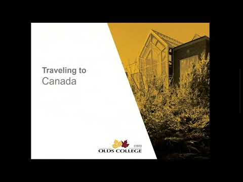 International - Travel to Canada
