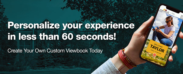 Personalize your experience in less than 60 seconds