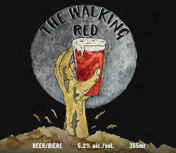 Walking Red #BeTheBrewer