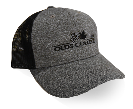 Olds College Grey Embroidered Hat