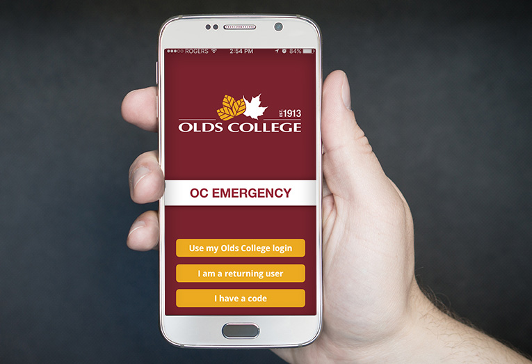 Olds College Emergency App