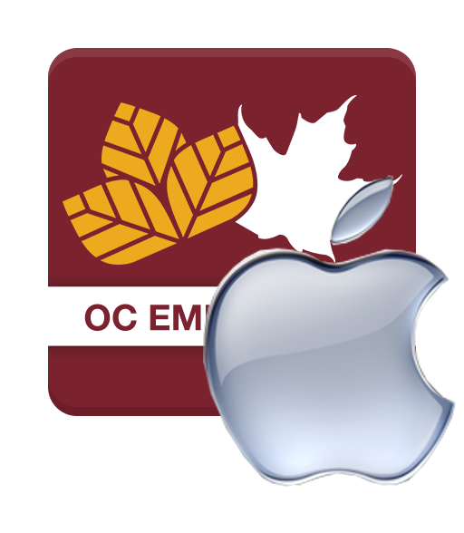 Download the OC Emergency App for Apple