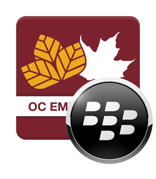 Download the Blackberry OC Emergency App